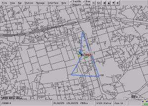 草加の数値地図2500と移動運用の結果
