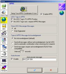 UISSの設定画面