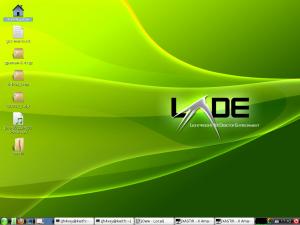 LXDE画面