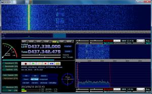 Masat-1 受信画面