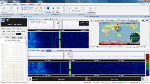 SDR-Radio v2.1 + R820Tチューナー