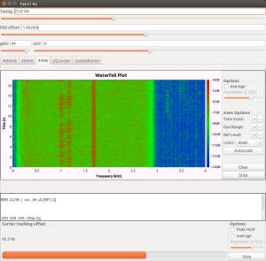psk31_rx.grcの画面