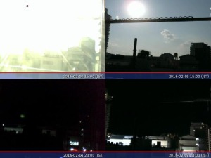 Webカメラの画像比較