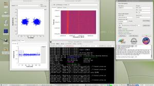 LilacSat-1のFMトラポンを聞く図