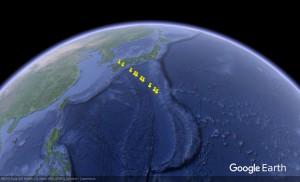 LilacSat-1のGPSテレメトリをGoogle Earthで表示