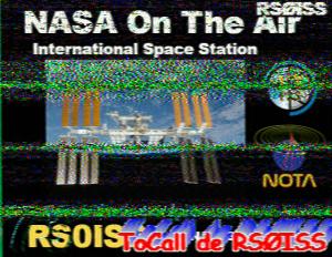 ARISS SSTV (NASA On-The-Air)