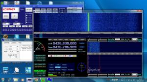 FCD + HDSDR + Doppler-DF