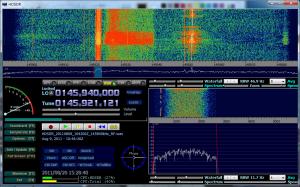 Sample ARISSat-1 recording