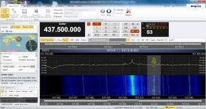 sdr-radio 1.4 v773 画面