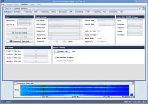 Masat-1 Client Software画面
