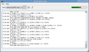 Qtmm AFSK1200 Decoder