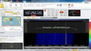 SDR-Radioで見るESTCube