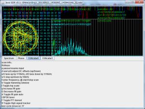 FUNcube-1サンプルファイルのデコード結果