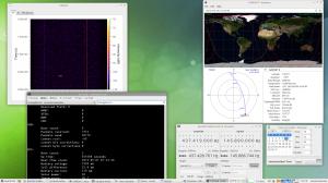 gr-aausatでAAUSAT4 CSPビーコンのデコードに成功!