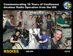 ARISS/NOTA Slow Scan TV Event