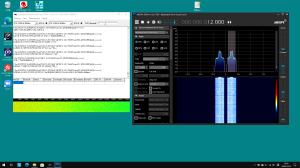 IC-9700で9600bpsパケットをデコード